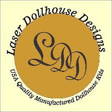Dollhouse | Dollhouse kits | Dollhouses | Laser Dollhouses